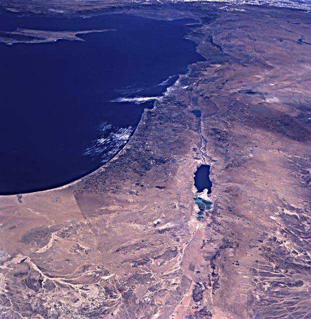 Satellite Photographs Of Israel And The Middle East - Best satellite image maps