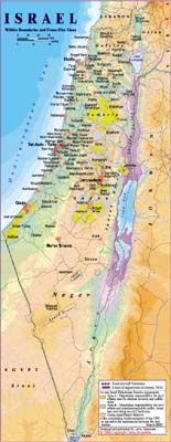 Israel Maps - Maps of israel
