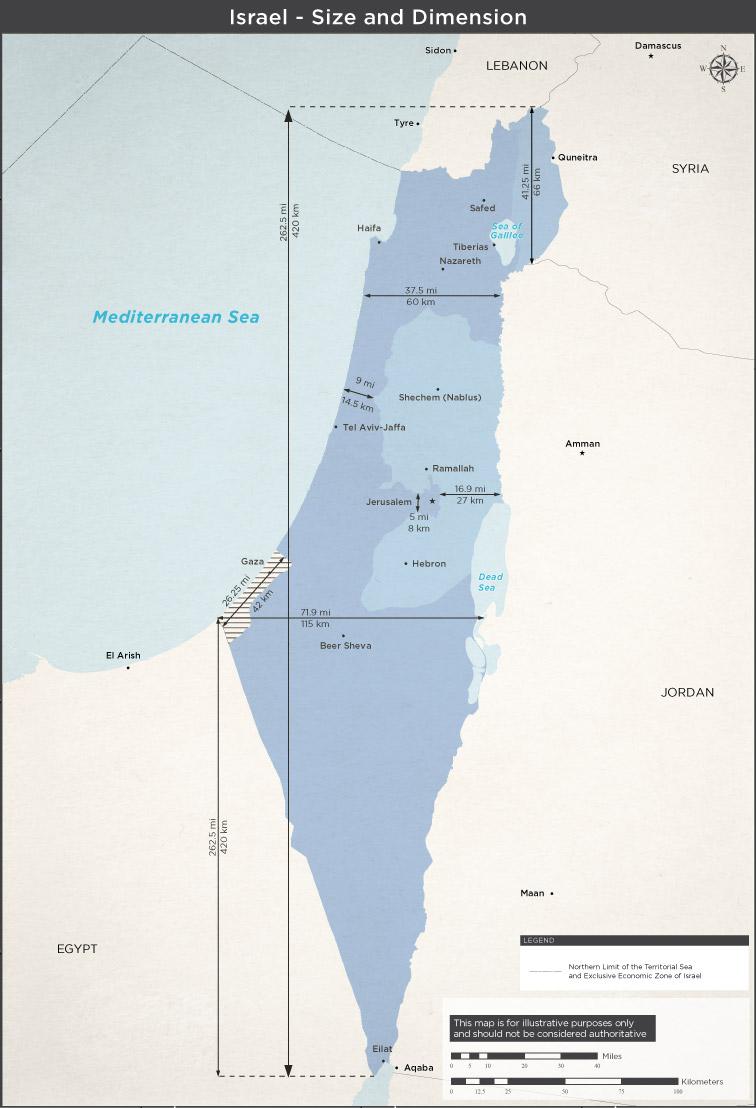 Israel Maps