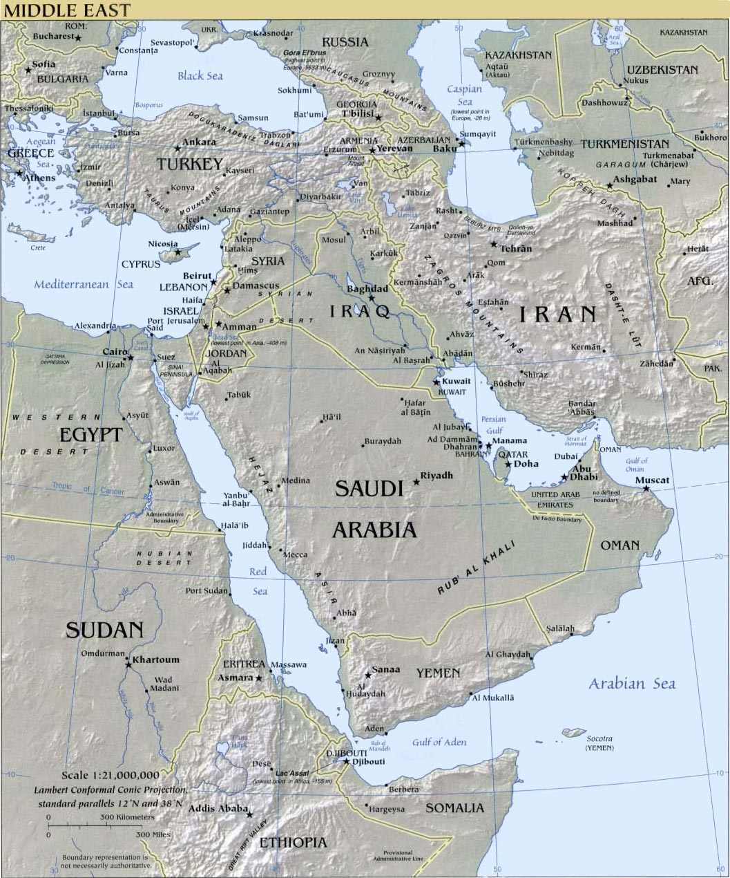 Israel Maps - Isreal map