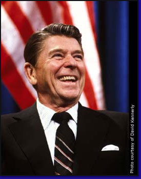 a biography of ronald reagan the 40th president of the united states from 1981 to 1989 President ronald reagan was our 40th president of the united states he came into office and was sworn in 1981 at 69 years old ronald reagan was the oldest person to ever be sworn into the presidency.